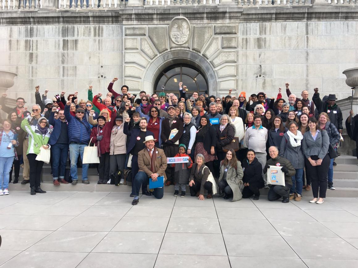ACLU Lobby Day Group