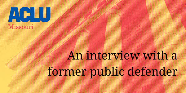 An interview with a former public defender