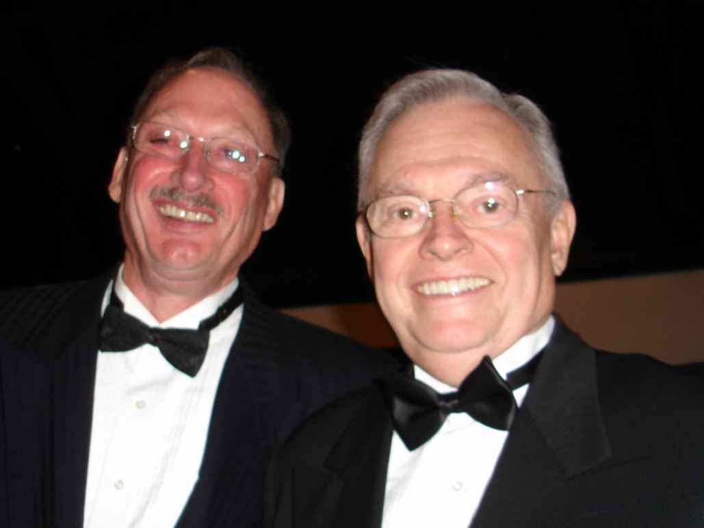 Photo of Bill Parker and Ed Gentzler