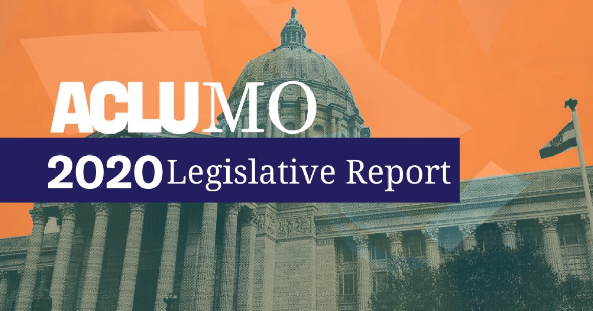 2020 legislative report